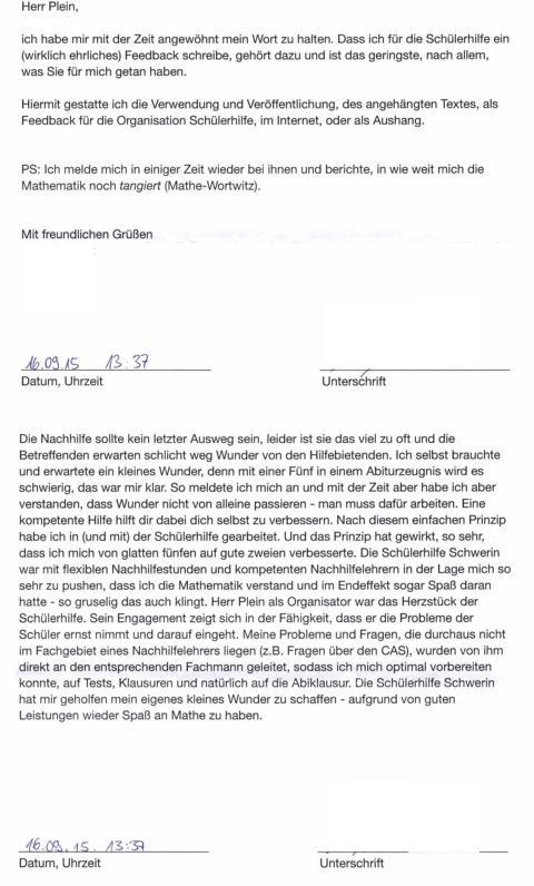 Nachhilfe Schwerin - Bessere Noten in Mathe & Co. | Schülerhilfe